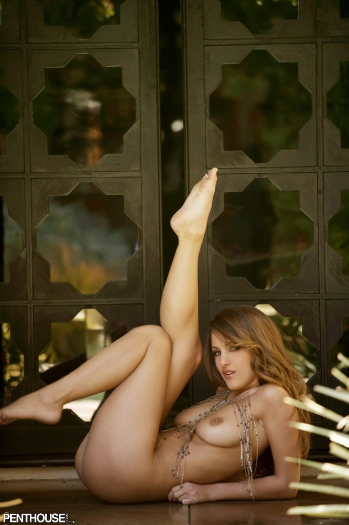 Andie Valentino Naked in Jewels