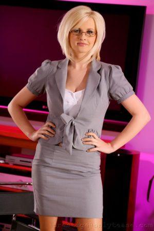 Sexy Executive Michelle Marsh