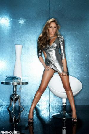 Ella Milano Hot Babe in Silver
