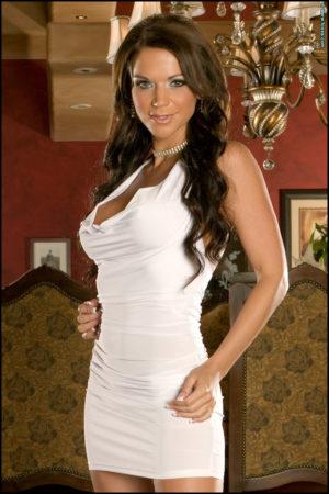 Rebecca Rayann White Dress