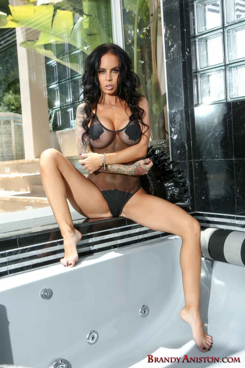 Brandy Aniston Naked Babe with a Vibrator