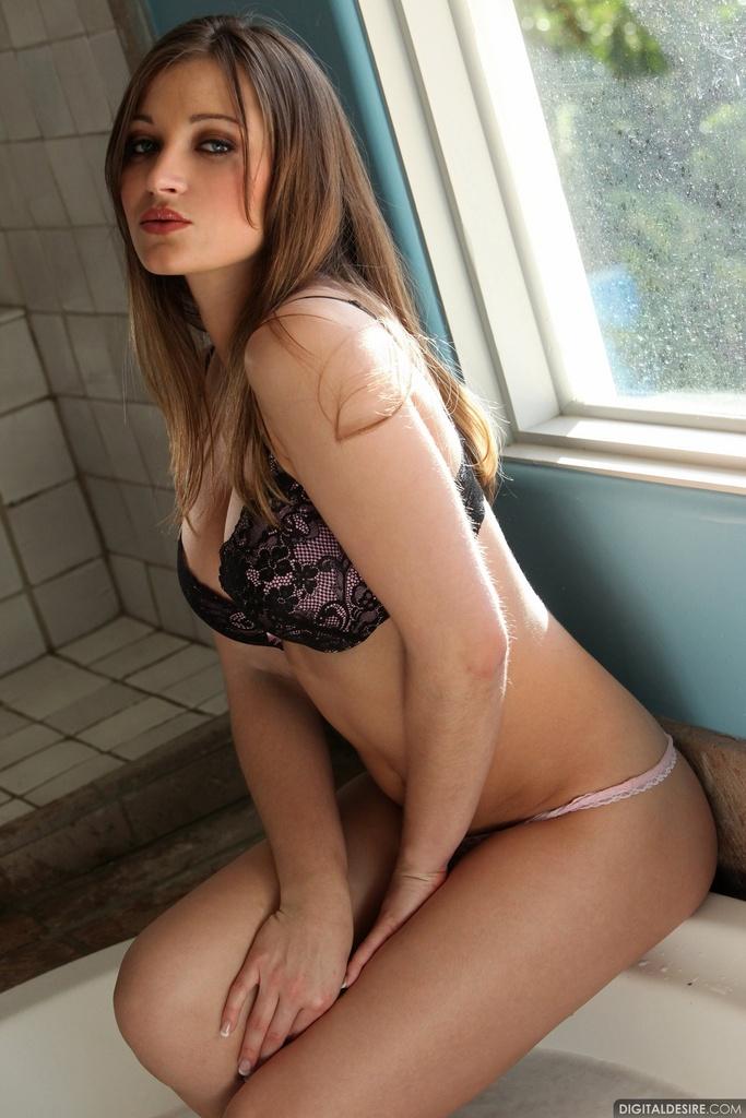 Dani Daniels Shower