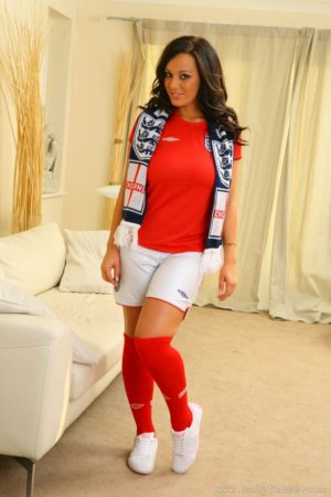 Lindsey Strutt Strips For England
