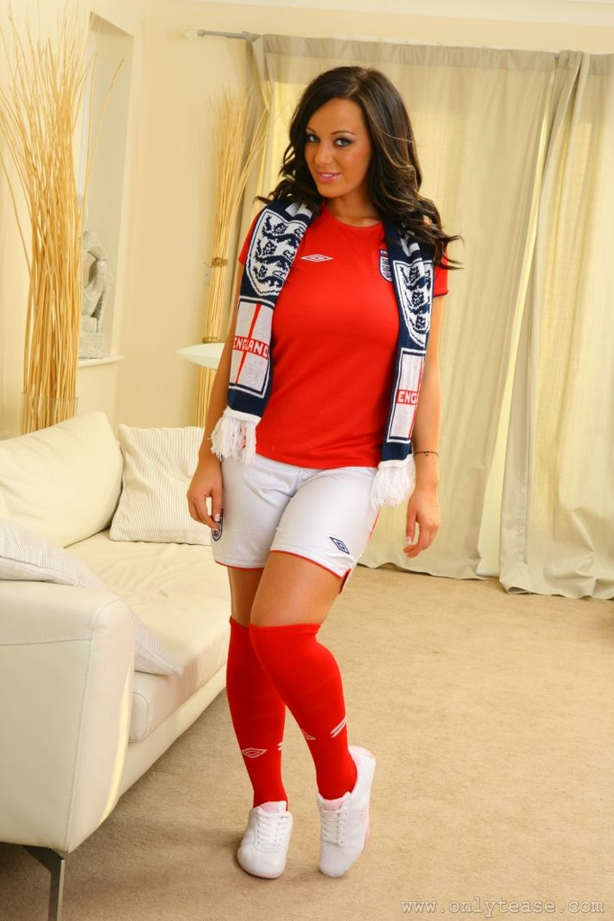 Lindsey Strutt Strips For England