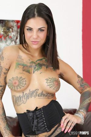 Natalia Starr Purple Bikini Babe with a Vibrator
