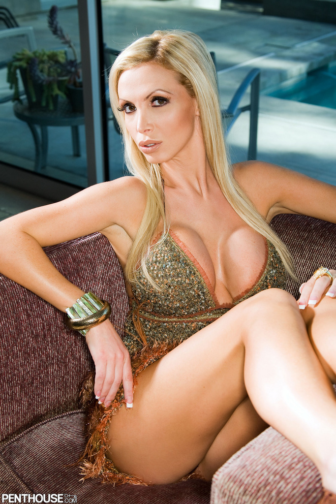 Nikki Benz Outside Dress Naughtiness