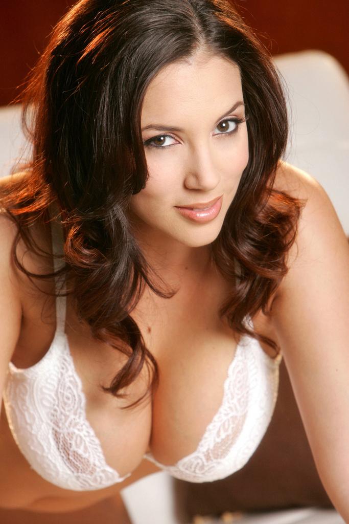 Jelena Jensen Busty in White