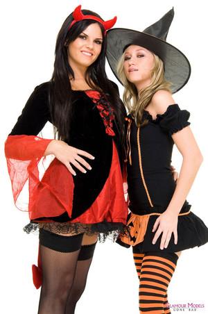 Madison Scott and Mackenzie Pierce Witchy Women
