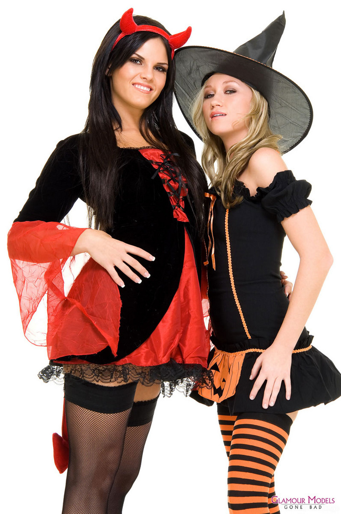 Madison Scott and Mackenzie Pierce Witchy Women