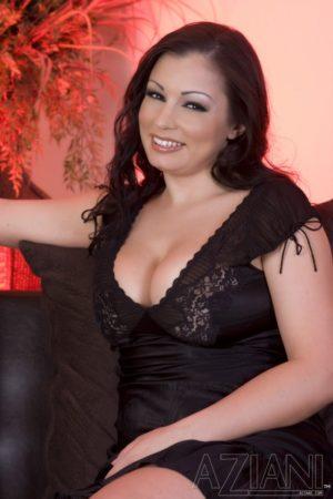 Aria Giovanni Big Tits in a Minidress