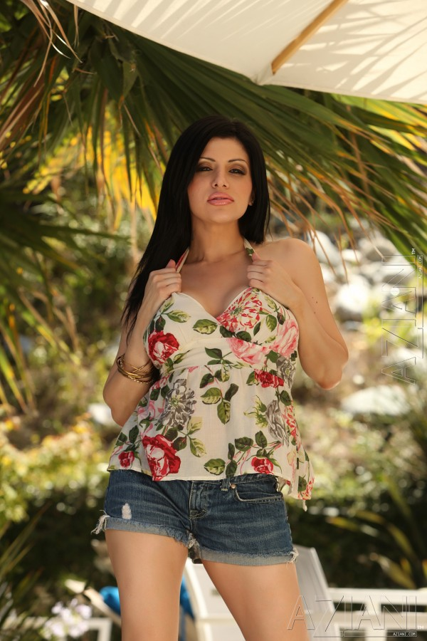 Sativa Rose Busty Latina Fingering