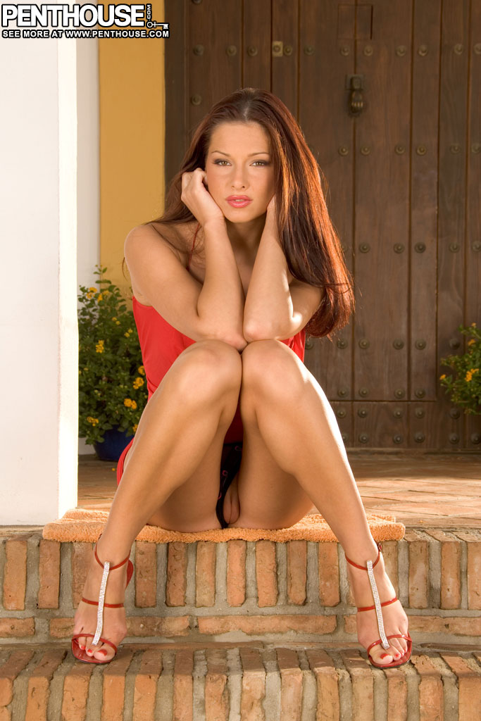Evelyn Lory Hottie in Red