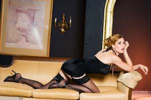 Jaime Lynn Sultry Goddess in Lingerie