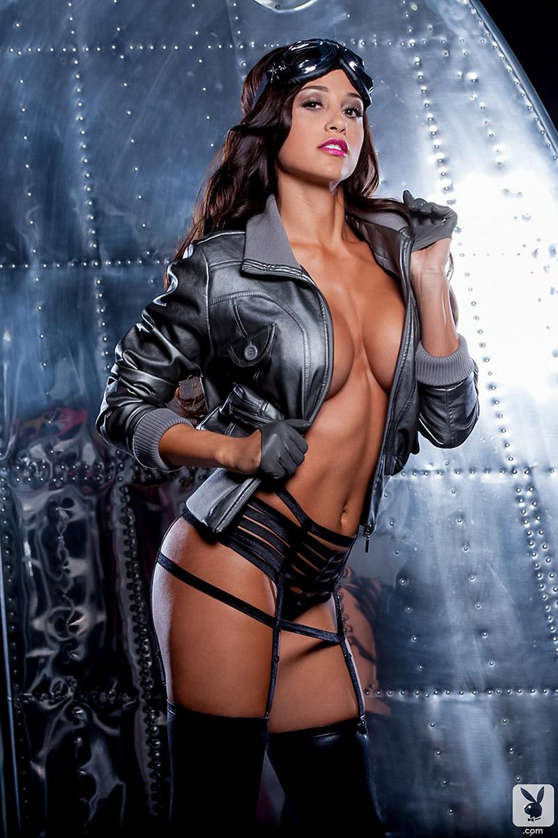 Ana Cheri Busty Latina World's Sexiest Pilot