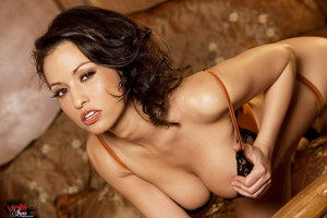 Lana Lopez Bares Hot Latina Curves from Lacy Lingerie