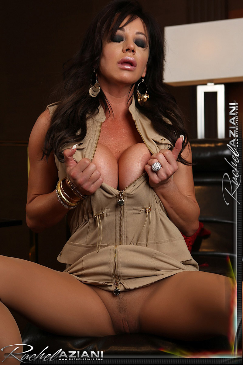 Rachel Aziani Busty MILF Gets Nasty with Pantyhose