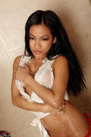 CJ Miles Busty Filipina Takes a Steamy Shower