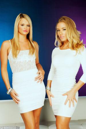 Nicole Aniston Savors Fellow Penthouse Pet Heather Starlet