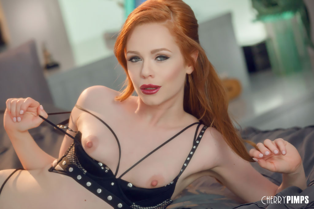 British Beauty Ella Hughes Rolls in Bed