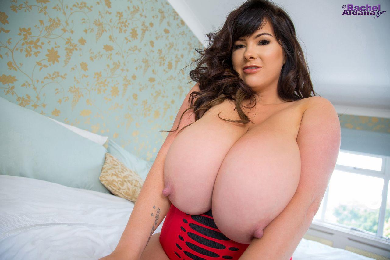 Rachel Aldana Busty Beauty in Strappy Top