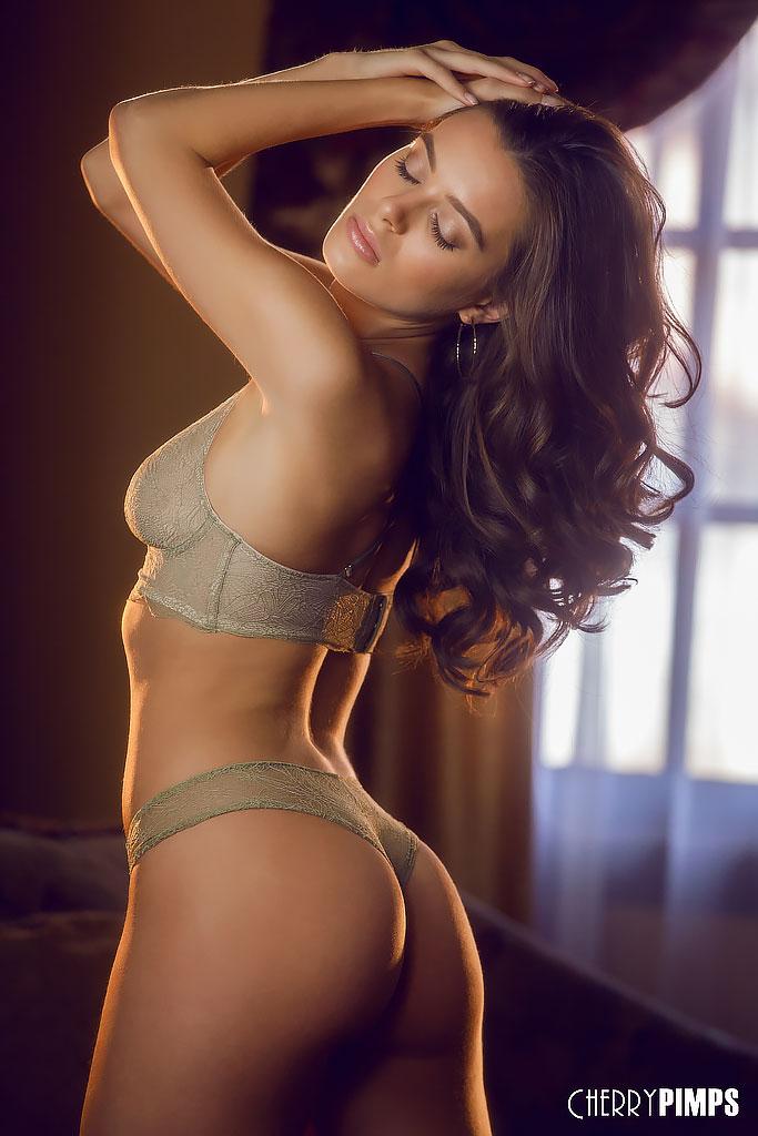 Lana Rhoades Sensual Lingerie Striptease
