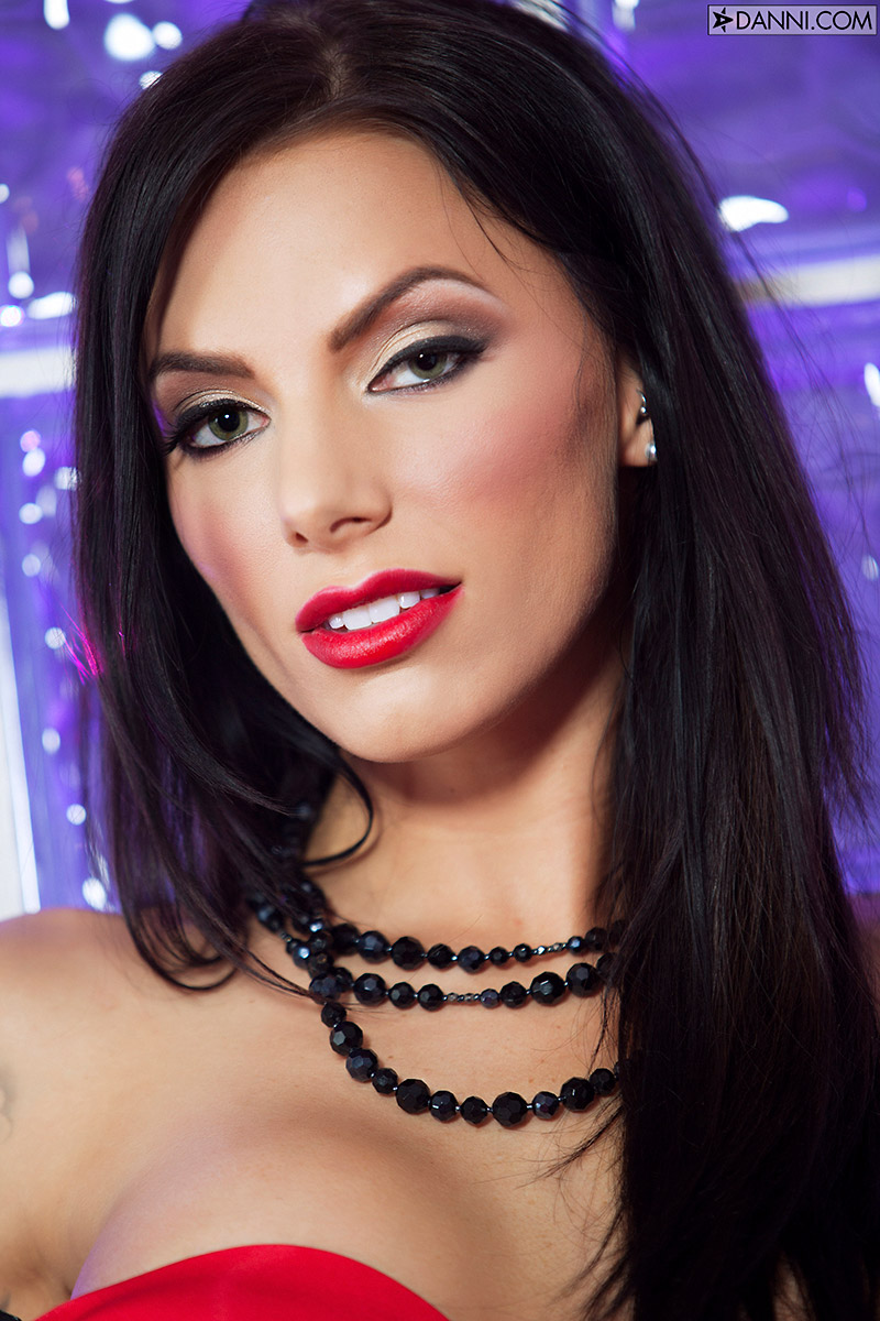 Juelz Ventura Sultry Latina Seduces in Satin and Lace