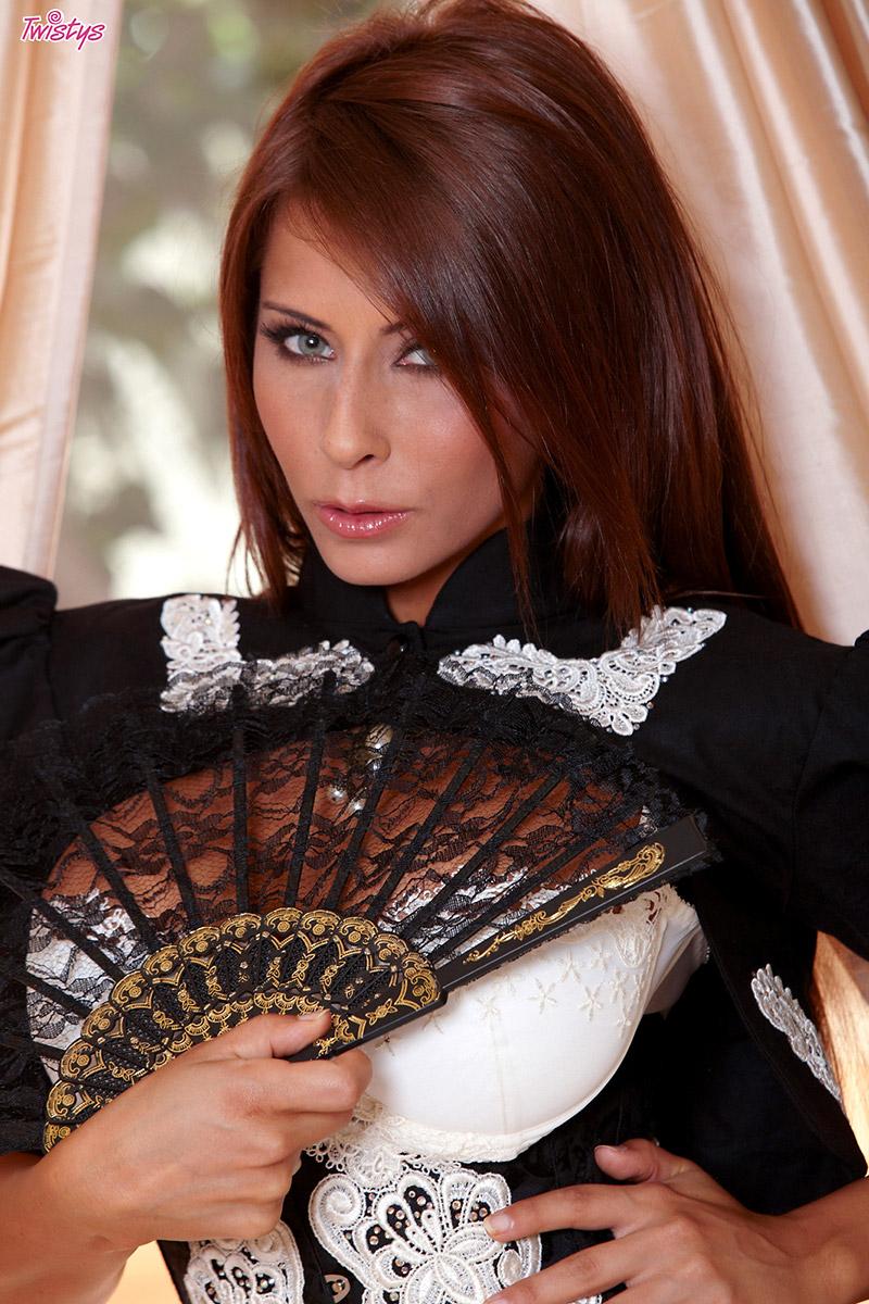 Madison Ivy Buxom Señorita Strips for Sexy Siesta