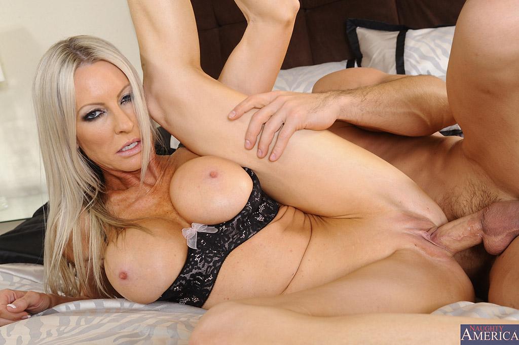 Freaky Perv Natasha Starr Catches Her Stepson Having Sex With Gf