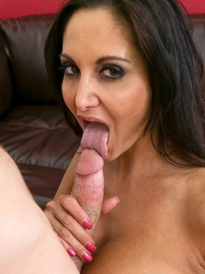 Ava Addams Works Hard Cock in Mouth and Tits